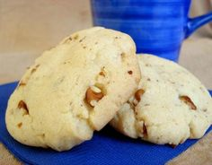 Copycat Keebler Pecan Sandies from Food.com: This is my favorite recipe for pecan sandies and tastes just like the store bought ones. The recipe is from copykat.com, but I wanted to save it here, and in my special cookbook!!