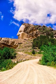 Crazy Horse Memorial, Black Hills, South Dakota USA