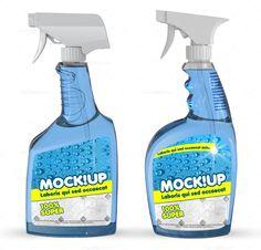 Cleanser Bottle #Mockup