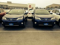 Blue Crush Metallic 2014 #Toyota RAV4  Come down and take a look at these beauts!  www.HandyToyota.com