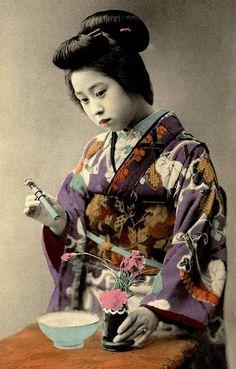 Circa 1900.  Okinawa Soba, via Flickr