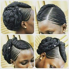 Braid 5th African Braids Styles, African Braids Hairstyles, Braid Styles, Girl Hairstyles, Braided Hairstyles, Natural Hair Salons, Natural Hair Updo, Natural Hair Styles, Brazilian Wool Hairstyles