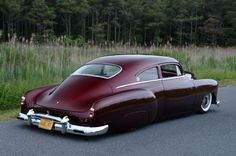 "Kent Writtenberry's Dramatic 1951 Chevy Fleetline ""MayBline"" is Textbook Perfection"