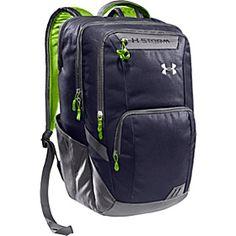 Under Armour Keyser Backpack - Midnight/Graphite/Hyper Green - via eBags.com!