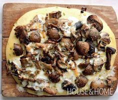 House Home Photo - Mushroom & Herb Polenta Recipe - Ottolenghi (from Plenty)