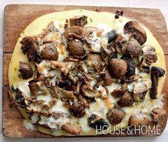 House Home Photo Mushroom & Herb Polenta Recipe