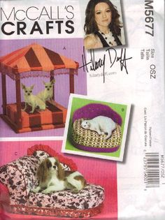 McCalls Crafts Pattern M5677 Pet Beds >>> Read more  at the image link. (This is an Amazon affiliate link and I receive a commission for the sales and I receive a commission for the sales)