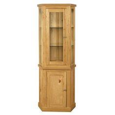 Elmwood corner cabinet, elmwood corner cabinet, elmwood furniture, light wood corner cabinet, corner cabinet