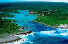 Parque Xel-Há esta ubicado en la Riviera Maya