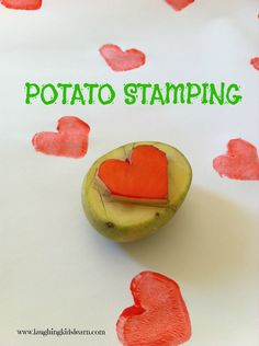 Laughing Kids Learn: Potato Stamps