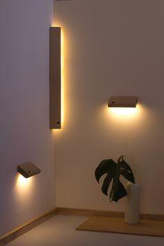 Light when you need - Automatically. Wireless, motion sensing light. ellum by Feltmark