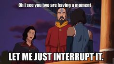 Suddenly, Tenzin.
