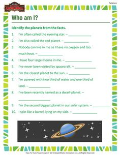 The Order of the Printable Science Worksheet for