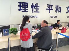 SICAS Member helps International student apply for residence permit.