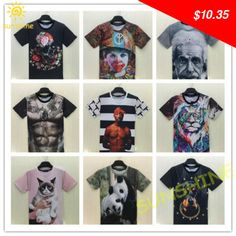 Great item for everybody. 2015 Einstein joker body lion tiger cute kitty dogy hot sexy 3D print  womenmen T-shirts  both side dress Clothing Free Shipping - US $10.35 http://tvshopping3.info/products/2015-einstein-joker-body-lion-tiger-cute-kitty-dogy-hot-sexy-3d-print-womenmen-t-shirts-both-side-dress-clothing-free-shipping/