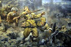 Chinese civil war good set for the battle field // set design ideas
