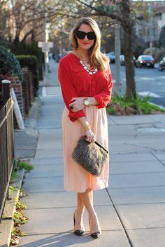 Soooo cute for a work outfit!