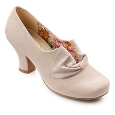1940s shoes: Donna Extra Wide Heels Extra Wide - More colors, Wide Sizes too. UK or USA