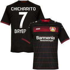018de3ee6 Bayer Leverkusen 2016 17 Home Men Soccer Jersey CHICHARITO  7