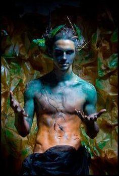 Foto: Model: Misha Vasil`ev body painting: and CottonFluff Faun IV Fantasy World, Fantasy Art, Space Fantasy, Fantasy Makeup, Dark Fantasy, Feral Heart, Character Inspiration, Character Design, 3d Character