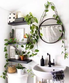Bathroom Decor plants plant stand design ideas for indoor houseplants 29 plants indoorplants houseplants lt; Stand Design, Küchen Design, Design Ideas, Design Trends, Booth Design, Banner Design, Graphic Design, Bathroom Plants, Small Bathroom