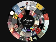 21 Examples of Circular Elements in Web Design