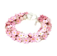 Hey, I found this really awesome Etsy listing at https://www.etsy.com/listing/213830337/pink-pendant-tender-bracelet-with