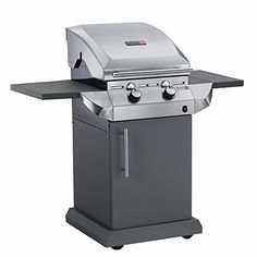 Char-Broil Performance Series T22G - 2 Burner Gas Barbecue Grill with TRU-Infrared technology, Stainless Steel Finish.