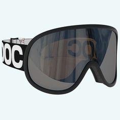 POC Retina BIG NXT Goggles Uranium Black Photochromatic Brown Silver Mirror Lens