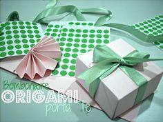 Tea origami box
