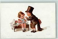Fialkowska, W. Puppen Kinderspiele Doktor Verlag August Rökl 1313 AK