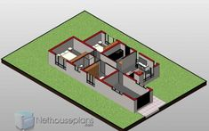 3 Bedroom House Plans | Single Story House Designs |NethouseplansNethouseplans 3 Room House Plan, 4 Bedroom House Designs, Four Bedroom House Plans, Tuscan House Plans, Simple House Plans, Garage House Plans, 3 Bedroom House, New House Plans, Story House
