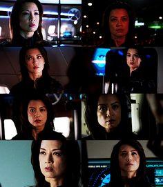""" Screencaps Meme: Melinda May - Agents of Shield Up close + personal """
