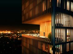 Manhattan Loft Gardens - night view. Amazing development in east London.