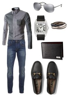 """""""casual"""" by grisucloset on Polyvore featuring Scotch & Soda, Gucci, Cartier and Prada"""