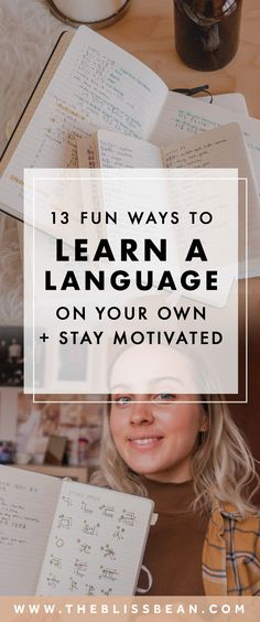 13 Fun Ways to Learn a Language on Your Own + Stay Motivated Study Spanish, Spanish Lesson Plans, Korean Language Learning, Learning Spanish, Foreign Language, Language Study, Learn A New Language, Useful Spanish Phrases, Language Immersion