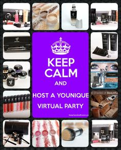 I'm always looking for cool chics to host an Online Younique Party! You can earn Younique Cash and 1/2 price items!  https://www.youniqueproducts.com/Lindaramirez  Find me on facebook and send me a friend request!