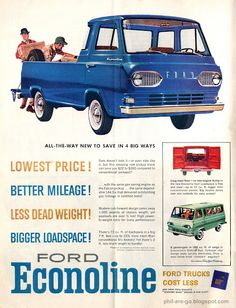 my baby, a Ford Econoline Pickup!