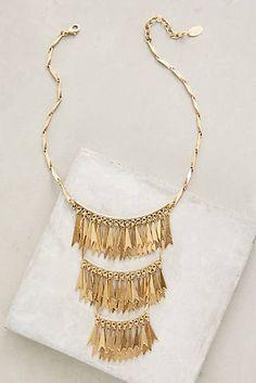 Goldfringe Necklace