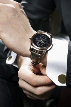 The First AllMetal Android Wear LG Watch Urbane EALUXE