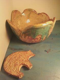 coiled bowl and bear shape *alea mae 2012