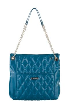 Grace Adele Handbag ~ Alex ~ $80 Ocean quilted handbag with convertible chain straps.
