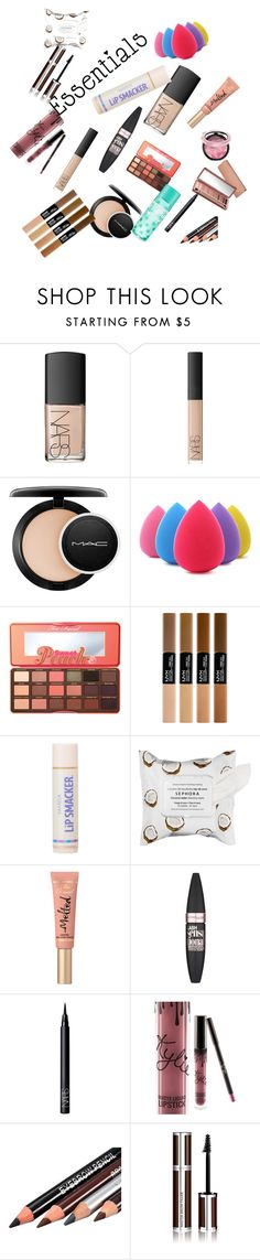 """""""Makeup"""" by chardance ❤ liked on Polyvore featuring beauty, NARS Cosmetics, MAC Cosmetics, Too Faced Cosmetics, Sephora Collection, Maybelline, Kylie Cosmetics, Givenchy, Urban Decay and contestentry"""