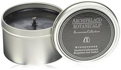 Archipelago Botanicals Excursion Collection Travel Tin Candle - Stoneh