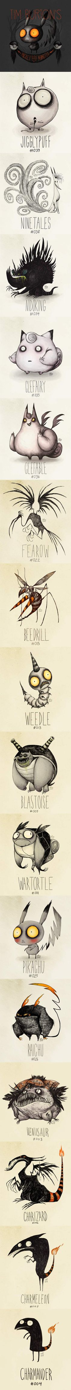 Funny pictures about Tim Burton Inspired Pokemon Drawings. Oh, and cool pics about Tim Burton Inspired Pokemon Drawings. Also, Tim Burton Inspired Pokemon Drawings. Estilo Tim Burton, Tim Burton Style, Tim Burton Art, Tim Burton Pokemon, Bioshock, Skyrim, Up Book, Geek Out, Geek Culture