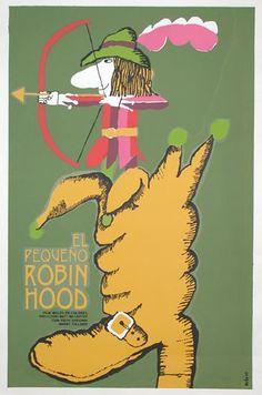 great cuban poster designer and children's book illustrator Eduardo Munoz Bachs