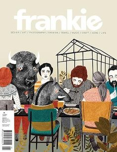 Details about Frankie magazine's February/March 2014, #58 issue on Magpile, the online reference to the world of magazines.