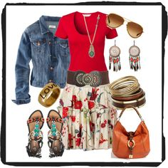 Free Spirit, created by katpatterson00 on Polyvore
