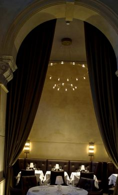 Restaurant Design Galvin La Chapelle DesignLSM Hanging Light « Interior Images, Photos and Pictures Gallery « DesignWagen