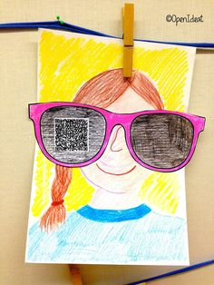 Open ideat: back to school Art For Kids, Crafts For Kids, Arts And Crafts, Kindergarten Activities, Art Activities, Art School, Back To School, Crafty Kids, Autumn Art